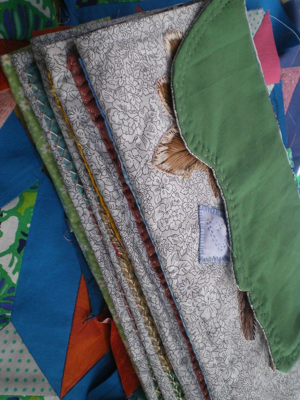 Atelier Patchwork - Mon livre textile se termine