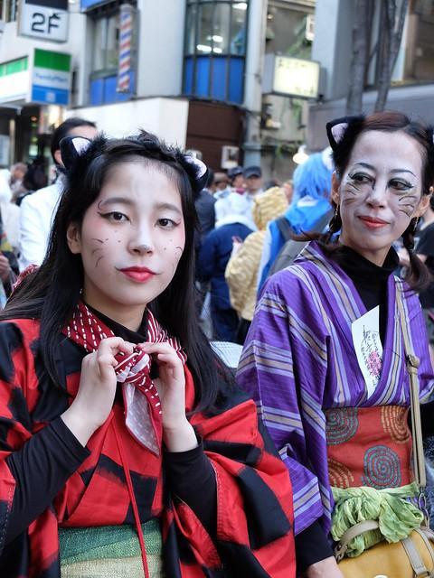 Kagurazaka Bakeneko Parade 2014-09