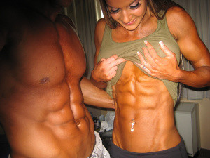Women how can get ripped abs