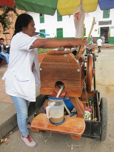 Fresh cane juice