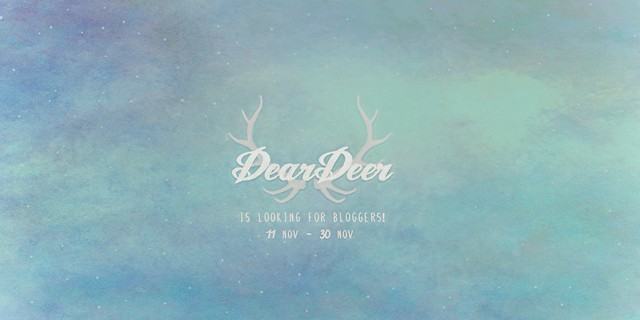 ~Dear Deer~ is looking for bloggers!