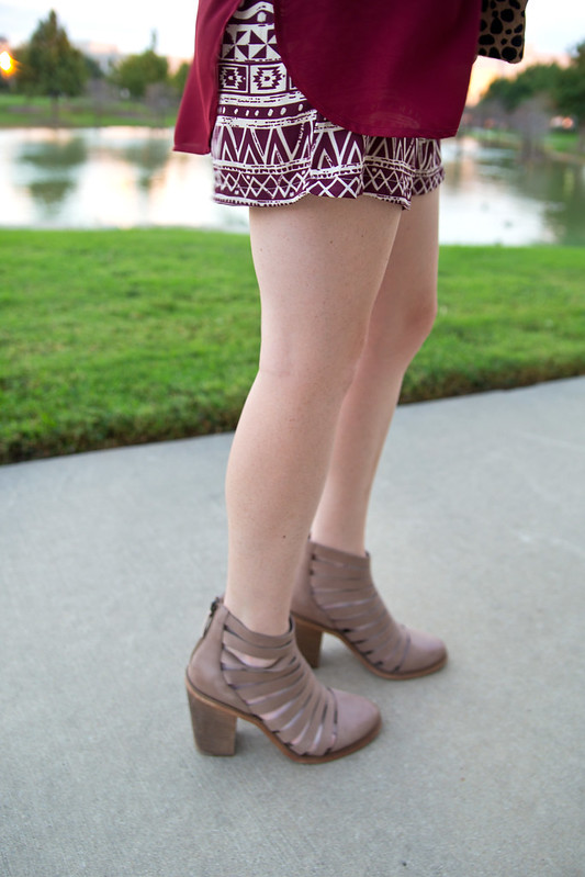 Ankle Boots with Shorts 2