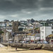 Small photo of St Ives 023 town 01a Alone at last.
