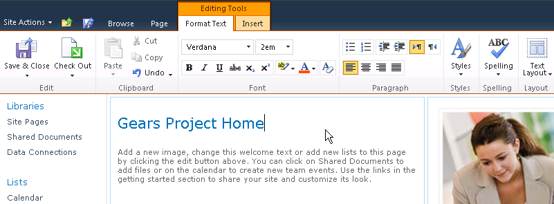 SharePoint-2010-Site