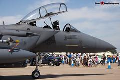 91-0334 - E-199 - USAF - McDonnell Douglas F-15E Strike Eagle - Fairford RIAT 2006 - Steven Gray - CRW_1681