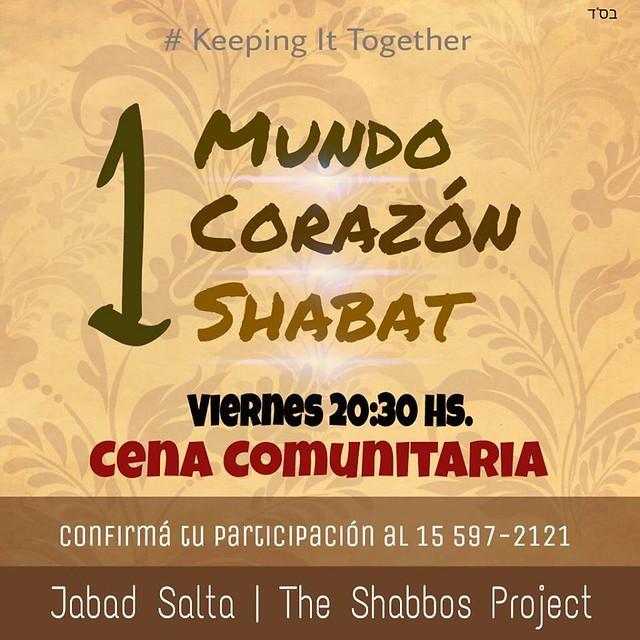 The shabbot project Salta
