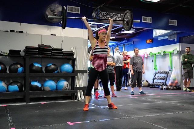 Barbells for Boobs - CrossFit Fringe