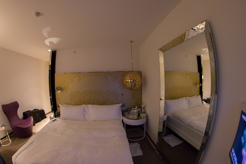 Bed in Wonderful Room | W St. Petersburg Review