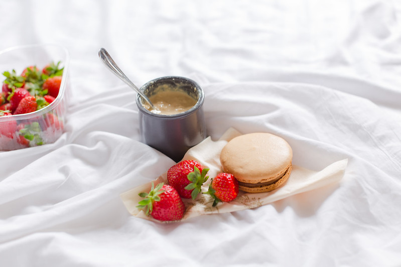 Strawberries & Macarons