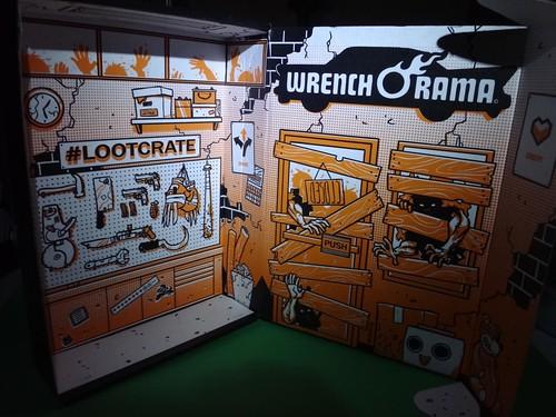October 2014 Loot Crate inside
