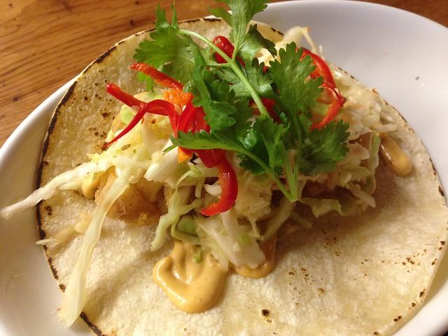 Spicy fish taco - Tico