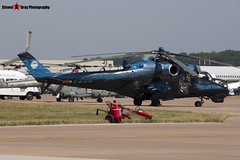7353 - 087353 - Czech Air Force - Mil MI-24V Hind - Fairford RIAT 2006 - Steven Gray - CRW_1241