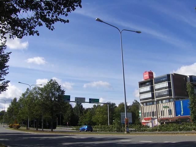 Hämeenlinnan moottoritiekate ja Goodman-kauppakeskus: Työmaan lähtötilanne 4.9.2011 - kuva 14