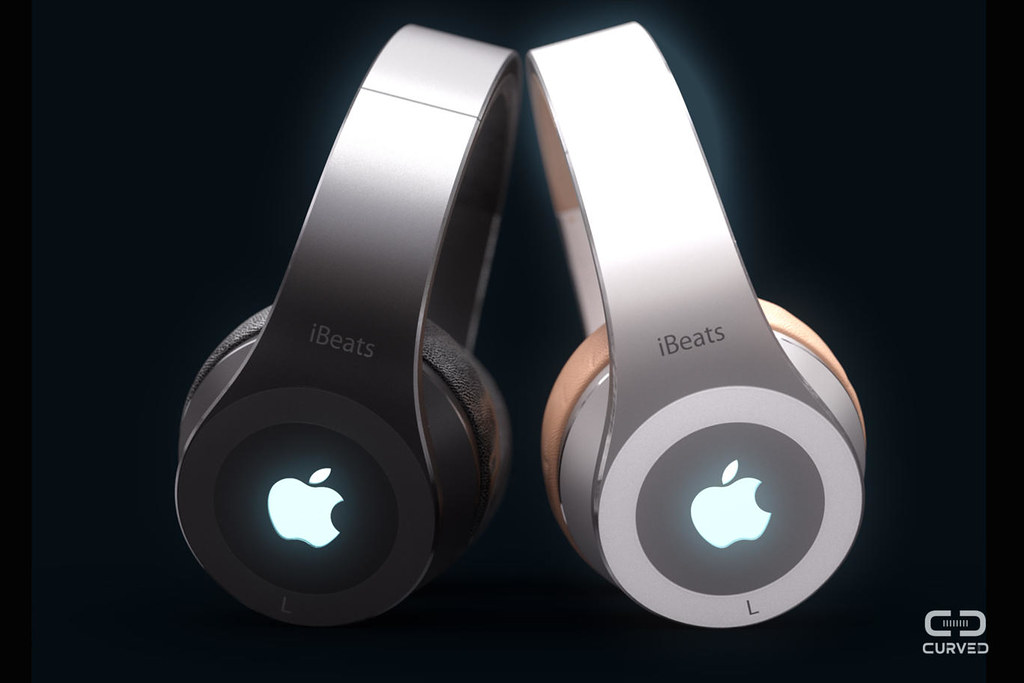 iBeats concept for www.curved.de