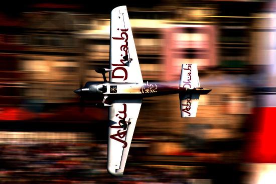 Fotografia em palavras: Avião
