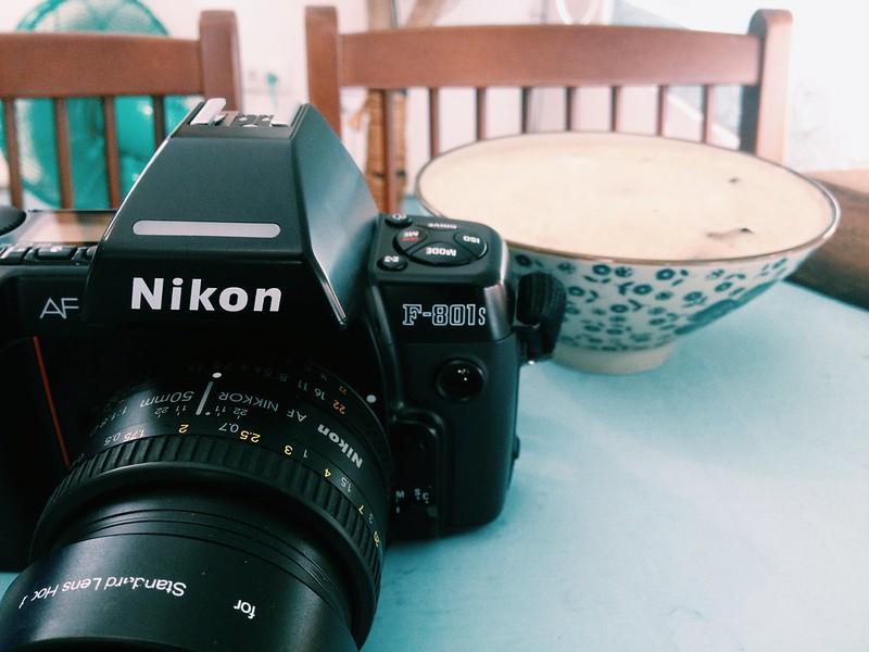 Nikon F801s w/ Nikkor AF50/1.8D
