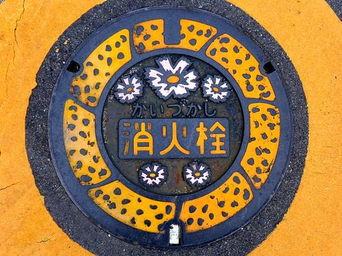 Kaizuka Osaka, manhole cover 2 (大阪府貝塚市のマンホール2)