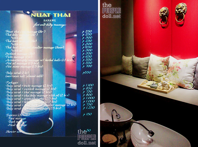Nuat Thai Banawe Rates