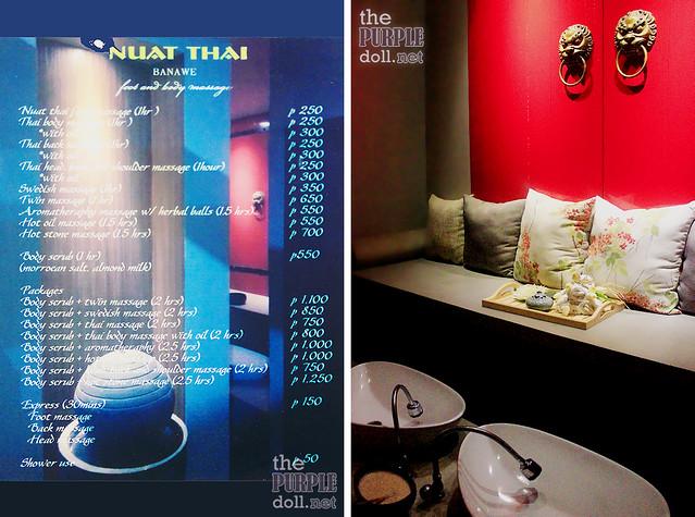Nuat Thai Banawe Rates