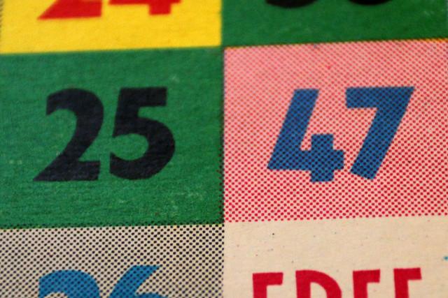 Bingo Card 2547