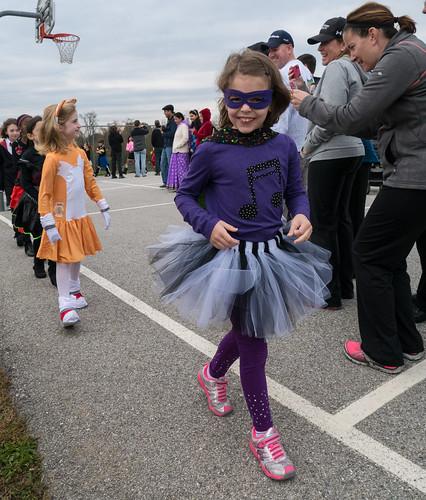 Quick costume parade