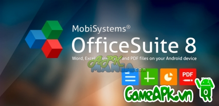 OfficeSuite 8 Premium v8.0.2421 Proper cho Android