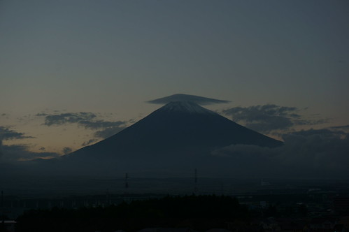 Mt. Fuji at Dusk 3