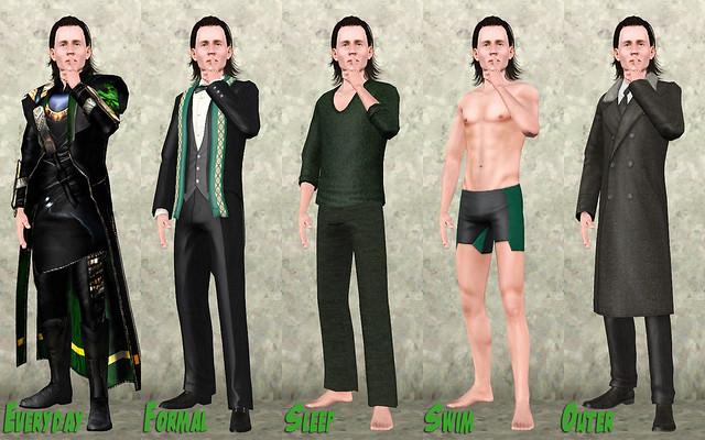 Wardrobe - Loki'd