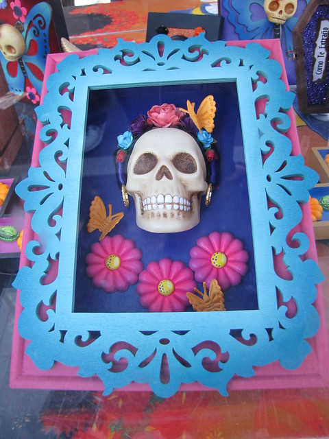 Day of the Dead Framed Art