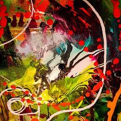 Section of canvas II. #bloomtrue #art