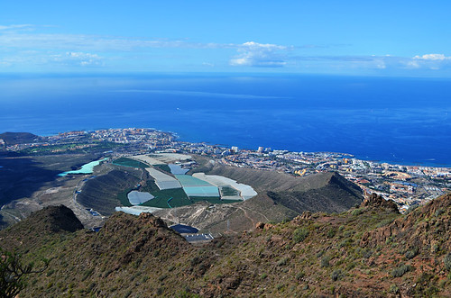 South Coast from Roque del Conde, Tenerife