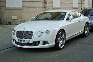 Paris  Bentley Continental GT
