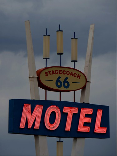 Stagecoach 66 Motel, Route 66, Seligman, Arizona