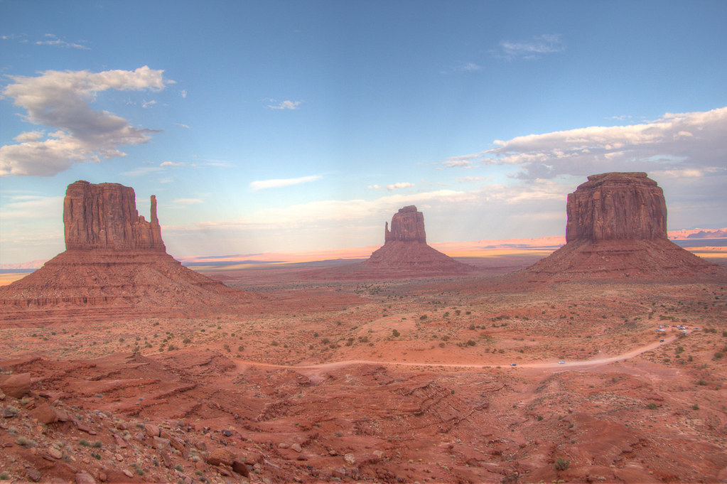 View of Monument Valley from our Hotel Room at The View Hotel