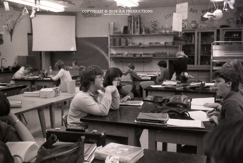 Tri-X Files 84_29.19: Dr. Birdd's Classroom in Earth Science