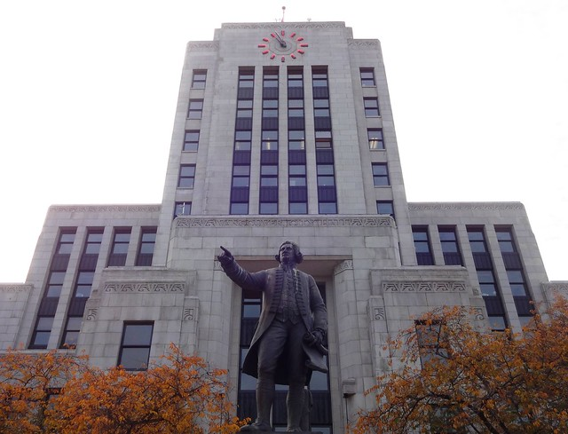 George Vancouver at City Hall