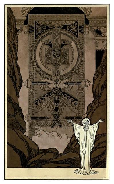 008-Rubáiyát of Omar Khayyám-1913- Ilustrado por René Bull