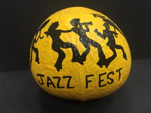 Zulu Jazz Fest coconut [Artwork by Pamela Shales]