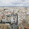 view from the top of Seville Cathedral #spain #spring