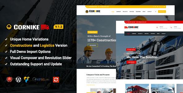 Cornike WordPress Theme free download