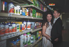 Find out how we ended up in a health food store and more on the blog tomorrow! #longbeach #longislandweddingphotographer #longislandweddingphotography #engaged