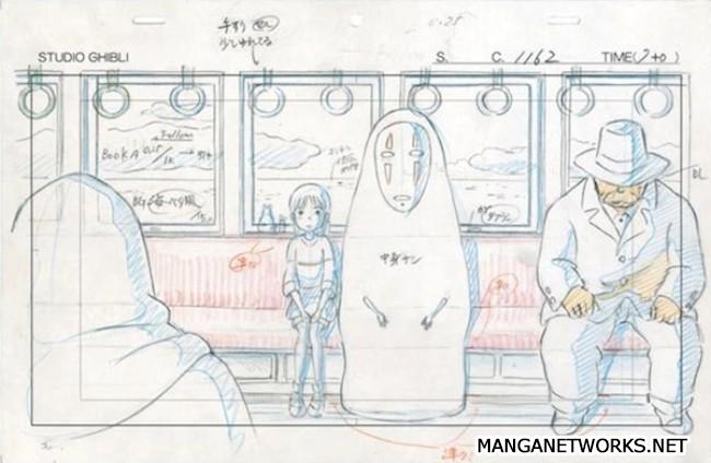 32965986362 e4cd170148 o 16 Storyboards của Studio Ghibli sẽ khiến bạn muốn xem lại Movie ngay lập tức !!