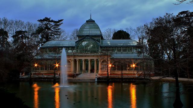 The Palacio de Cristal,  Madrid