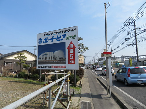 神埼駅通りのバス停