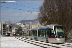 Alstom Citadis - Sémitag (Société d'Économie MIxte des Transports publics de l'Agglomération Grenobloise) / TAG (Transports de l'Agglomération Grenobloise) n°6037