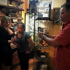 Having some quality smokes with my friend  @fdgcigars_yadi_90milescigars thanks for been at Cuenca last night  #Gentleman #cigar #cigars #dominican #flavor #craft #luxury #thegoodlife #cigarians #cigaraficionado #cigarlovers #nowsmoking #botl #sotl #cigar