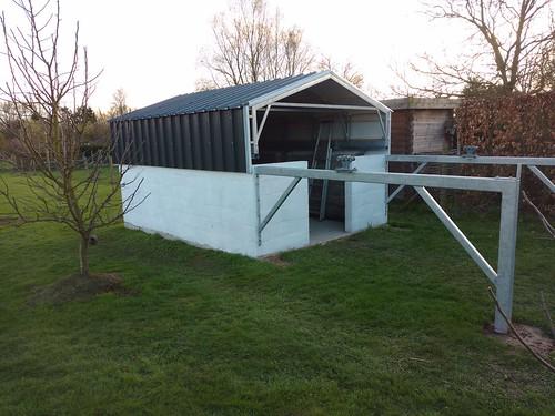 dak klaar met platen