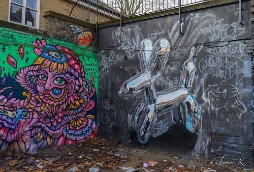London - Street art on a wall