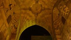 The ceiling of Khan El-Khalili's Bab El-Ghuri