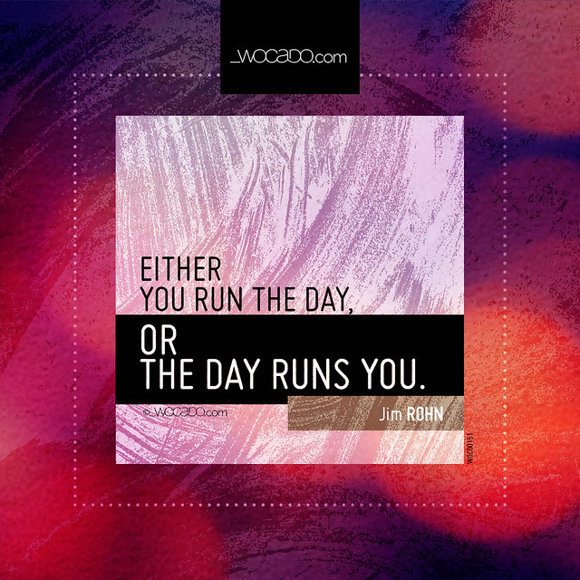 Run the day by WOCADO.com